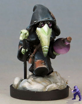 Chibi Kingdom Death Plague doctor