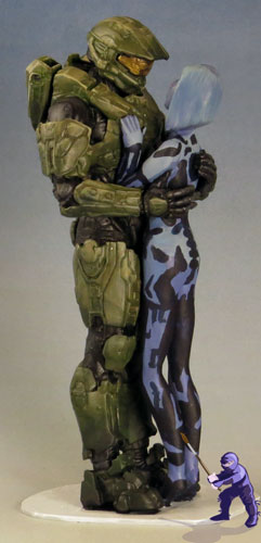 Master Chief Halo Cake topper