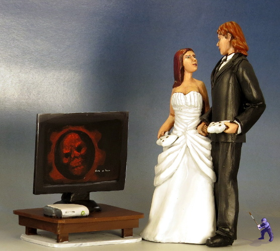 Gamers Cake Topper