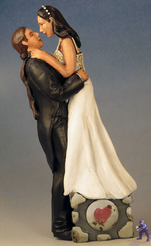 Weighted Companion Cake Topper