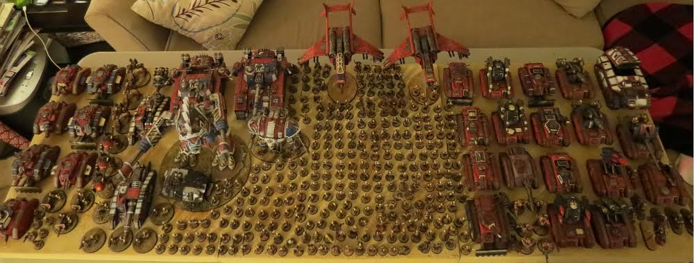 A huge legion of Praetorian Imperial Guard