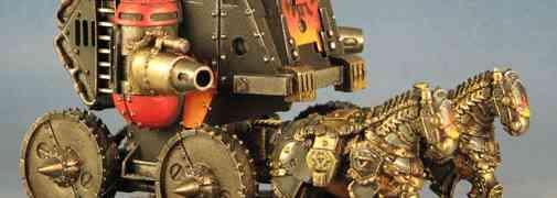 Khador Gun Carriage