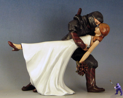 Wedding Cake Toppers For Actual Ninjas