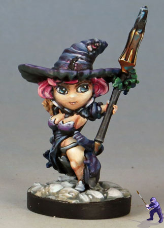 Chibi-Flower-Witch-Desciple