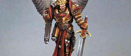 Sanguinius- Primarch of the Blood Angels