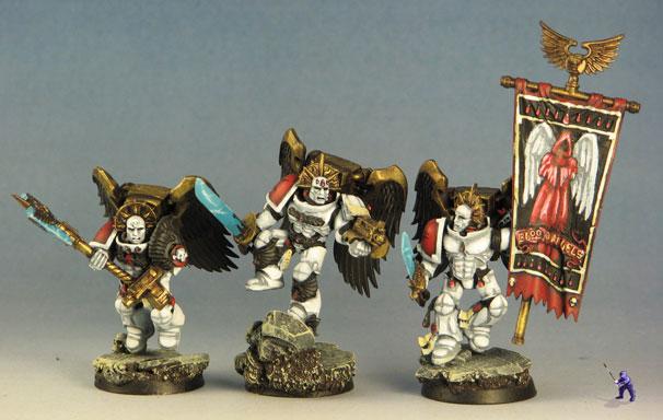Angels Encarmine Sanguinary Guard Miniwargaming
