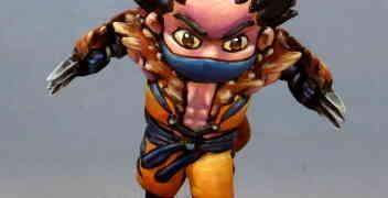 Byakko: Chibi Ninja Wolverine