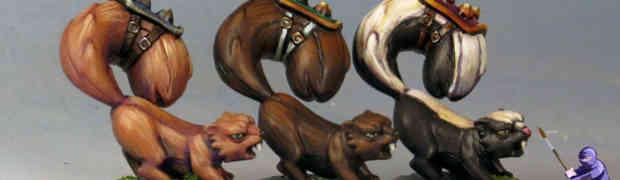 Rabid Squirrels for Super Dungeon Explore