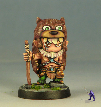 and a Druid some of the time