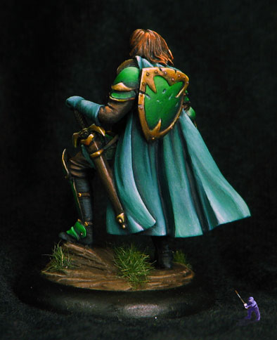 Dark Sword Miniatures Warrior With Bastard Sword Back