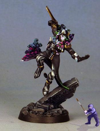 Wh40k Harlequin Mime Force By Garden Ninja Studios