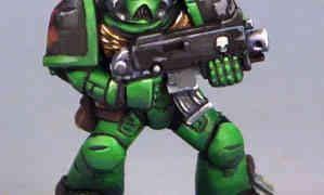 Salamanders Space Marines: Space Crusade Recreation part 1