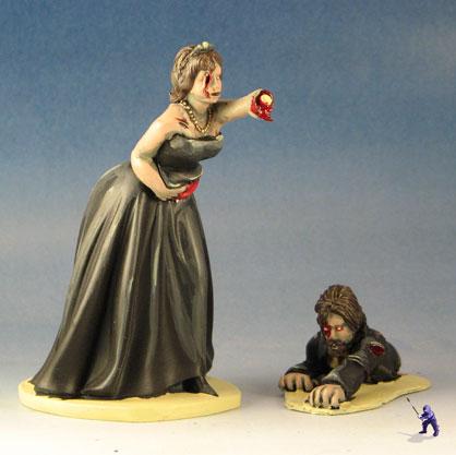 Zombie Apocalypse Wedding Cake Toppers
