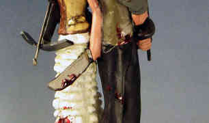 Zombie Survivors Wedding Cake Toppers
