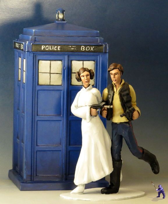 topper tardis and friends