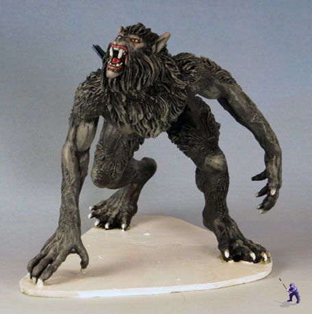 Cake Topper Antagonists Zombie And Werewolf Hunters