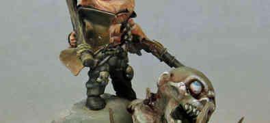 Kingdom Death Chibi Manhunter